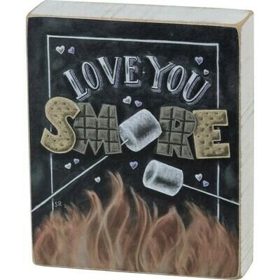 Block Sign - Love You Smore