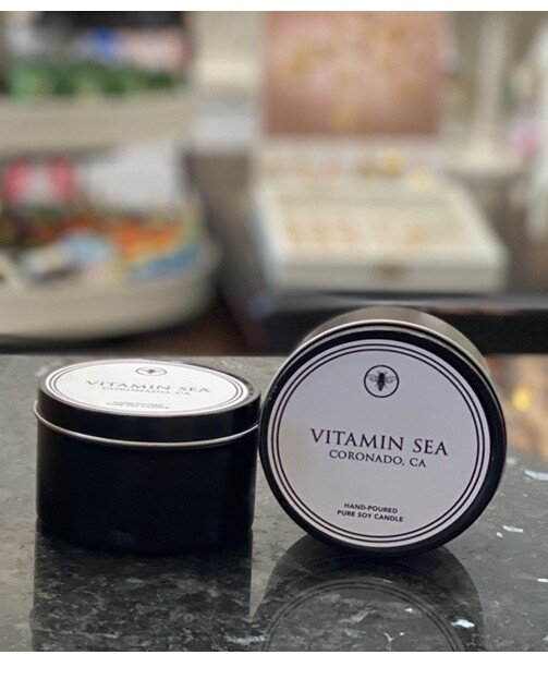 8oz Tin Candle - Vitamin Sea