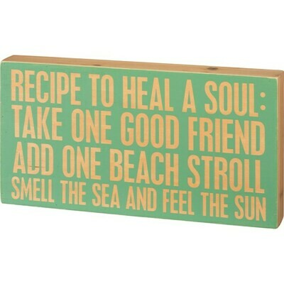 Box Sign - Heal A Soul