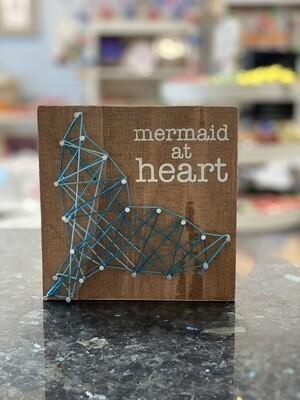 Box Sign - Mermaid At Heart