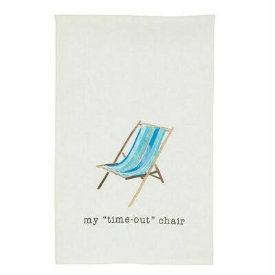 Chair Sea Icon Hand Towel