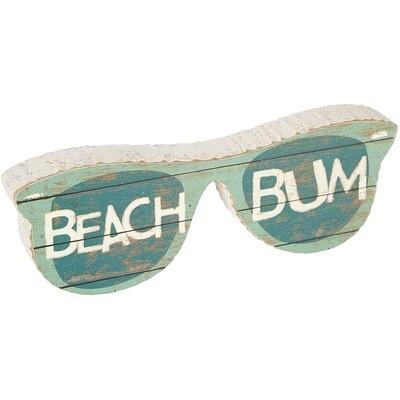 Chunk Block Sunglasses - Beach Bum