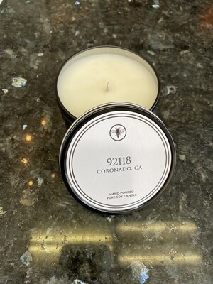 8oz Tin Candle-92118