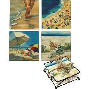 Coaster Set - Beach