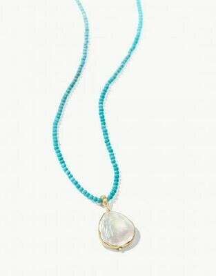 Coin Pearl Bitty Necklace 18