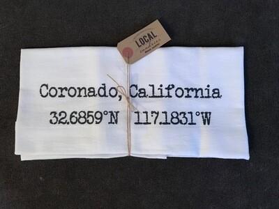 Coronado CA Coordinates