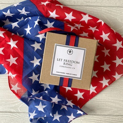Let Freedom Ring Limited Edition 11oz candle