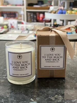 Votive Candle - I Love You To The Beach And Back