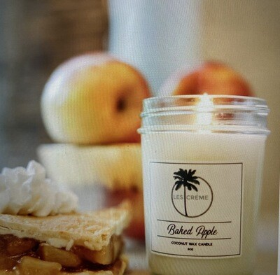 Baked Apple Organic Coconut Wax Candle 8oz