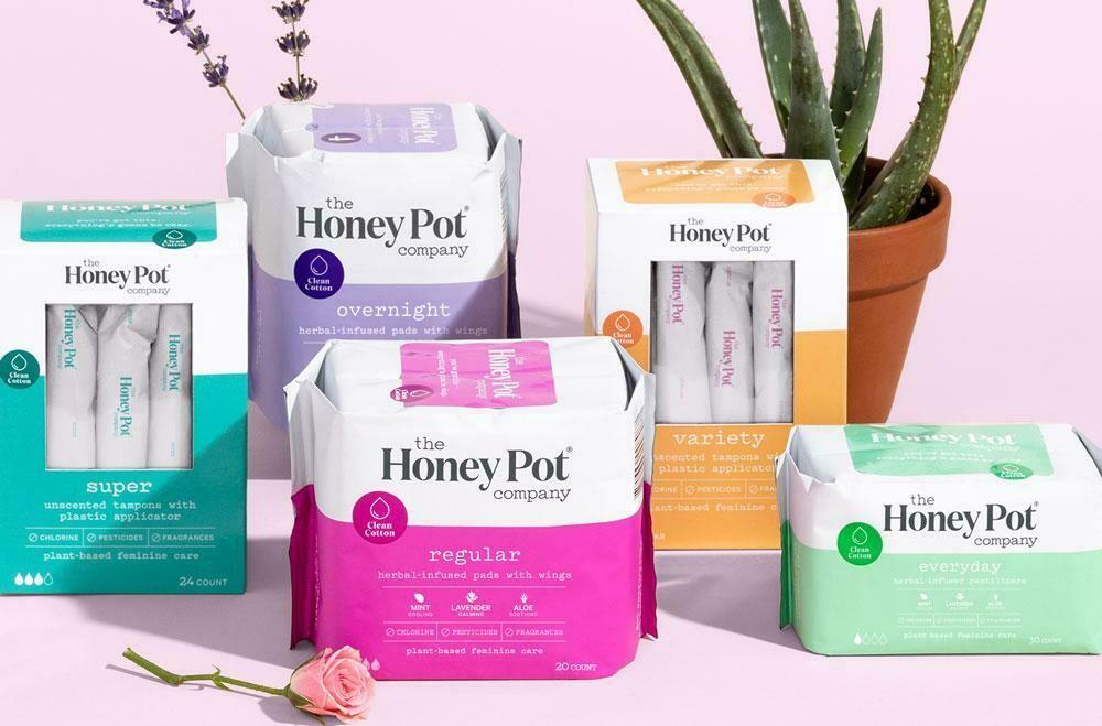 Super Herbal Menstrual Pads 16 ct