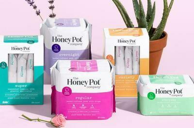 Overnight Herbal Menstrual Pads 12 ct