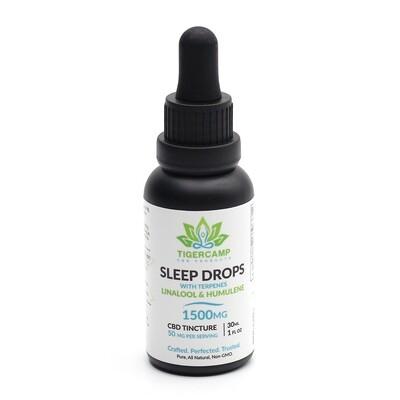 1500mg Sleep Drops CBD Tincture - Unflavored