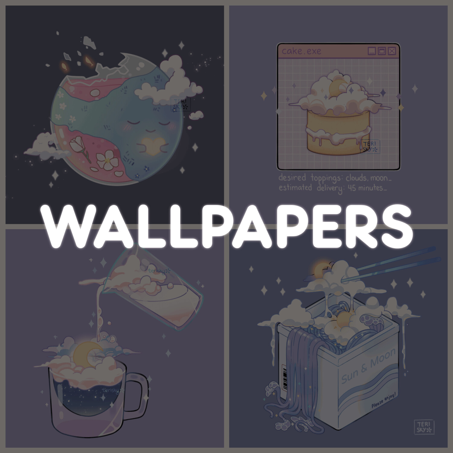 Wallpaper Pack: Clouds