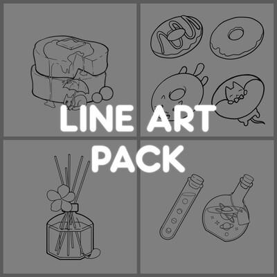 Line Art Pack