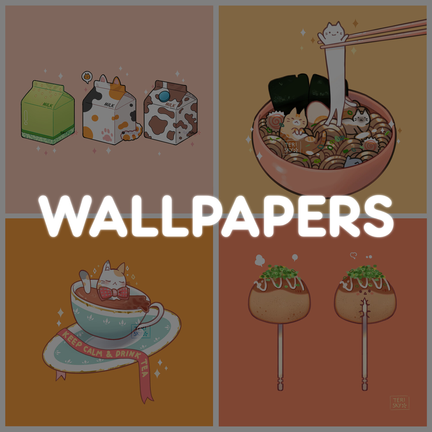 Wallpaper Pack: Foodie