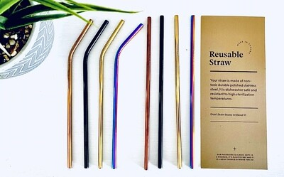 Mixed Reusable Straws