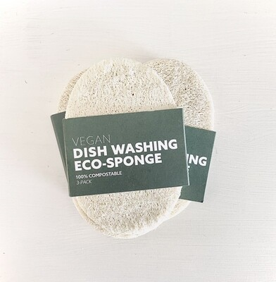 Biodegradable Eco-Sponge 3pk
