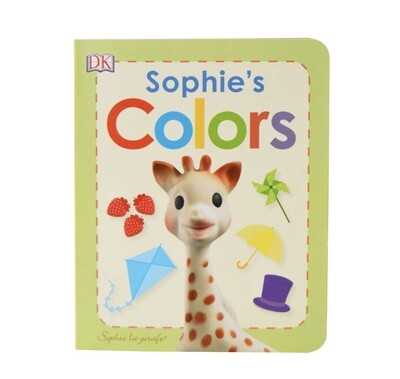 Sophie the Giraffe color book