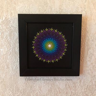 Framed Mandala Artwork