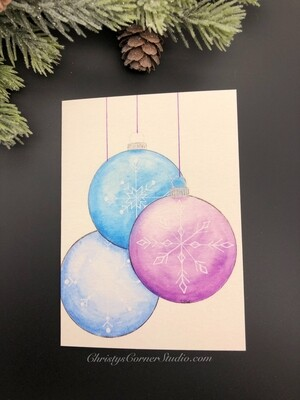 Ornament Christmas Note Card