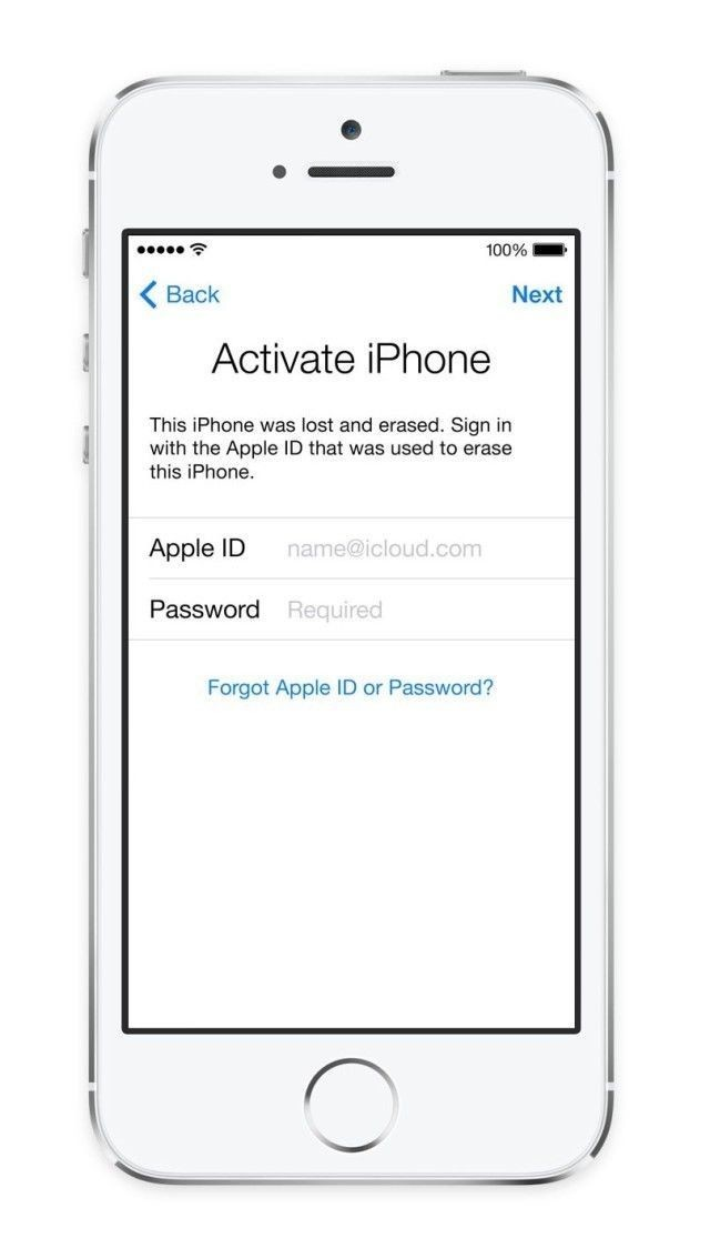 iOS 13/12/11/10/9/8/7 Activation iCloud ID Email Finder Service for iPhone/iPad (US Carriers Only)