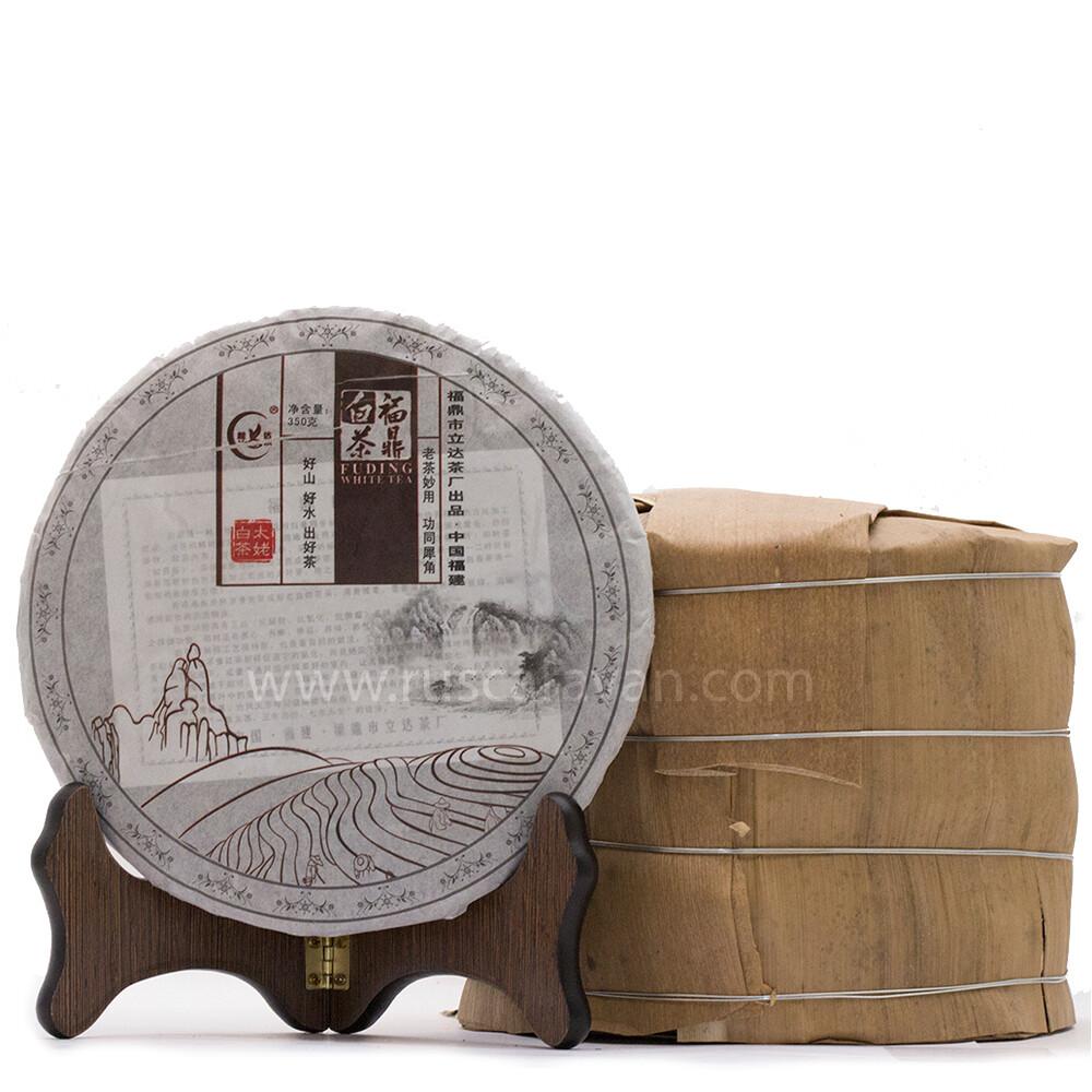 "1007к Чай прессованный белый ""Тай Му Бай Ча"" (бин, 350 гр)"