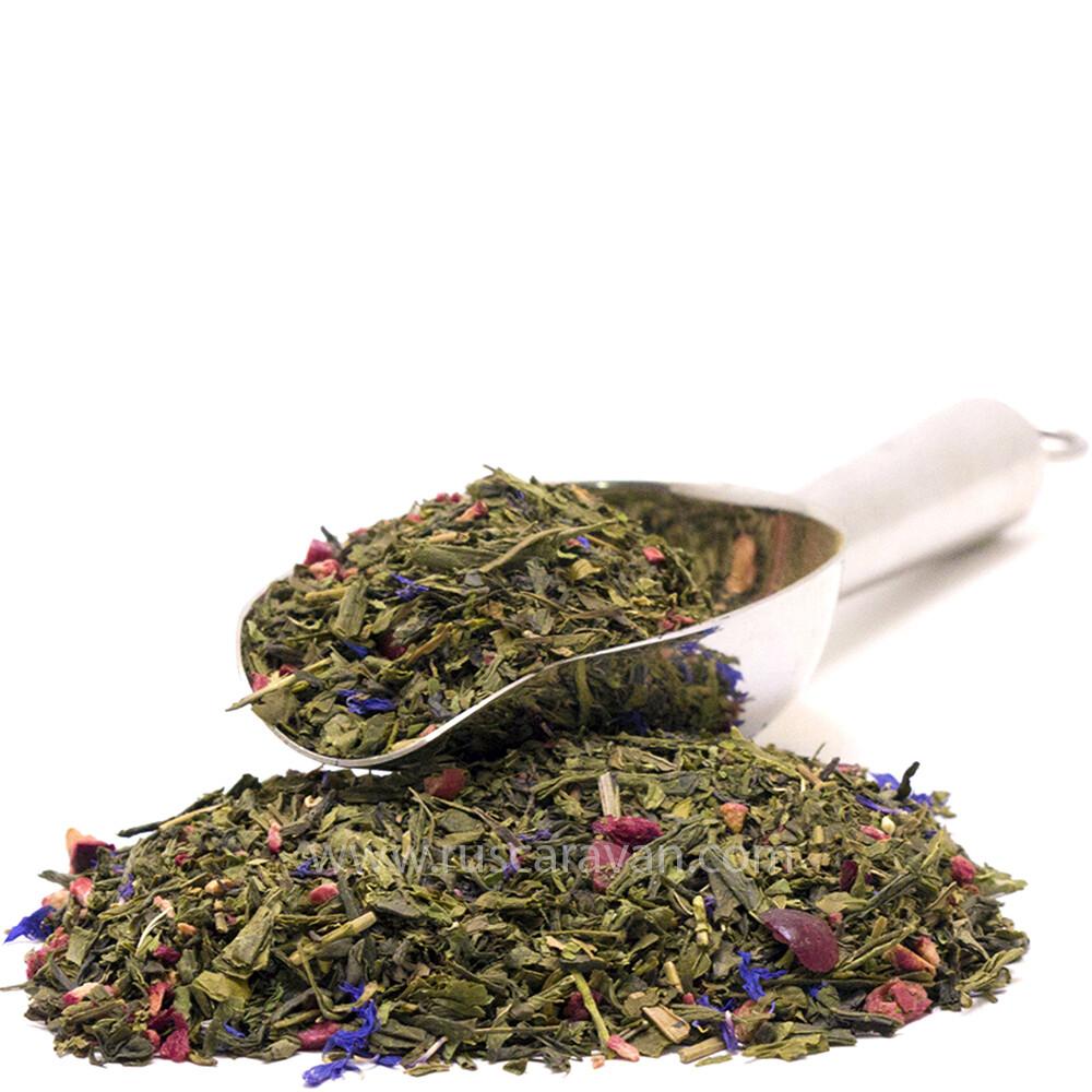 """7238D Чай зеленый ароматизированный """"Ягодная поляна"""""""