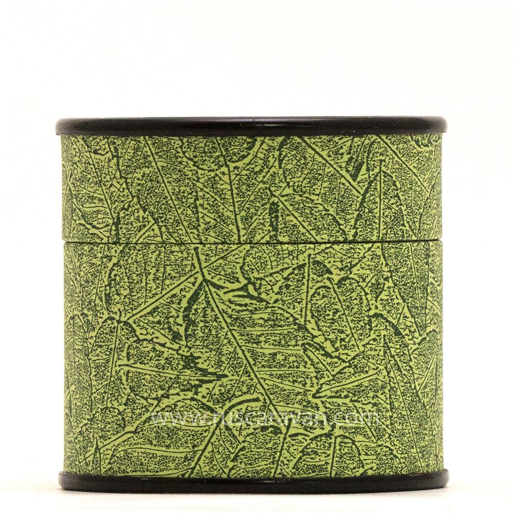 198001-18 Банка картон 65*65 (Зеленая)