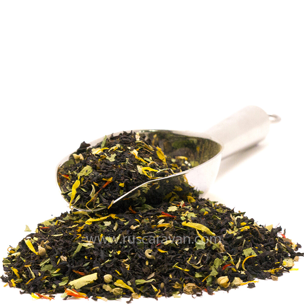 """7753 Чай черный ароматизированный """"Чай с липой"""""""
