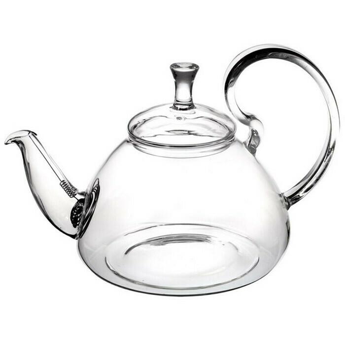 """237002 Чайник """"Георгин"""" 800 мл, стекло, с пружинным ситом"""