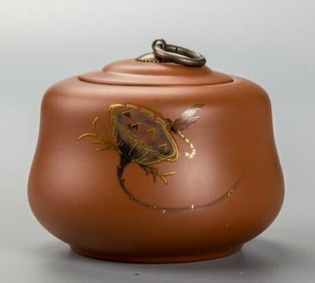 "239023 Чайница ""Бутон лотоса"", глина"