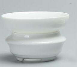 242089 Сито, фарфор. Цвет-белый, высота 4,5см, диаметр 8,5см