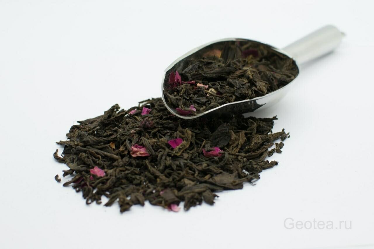 """7207D Чай черный ароматизированный """"Вишневый Пуэр"""""""