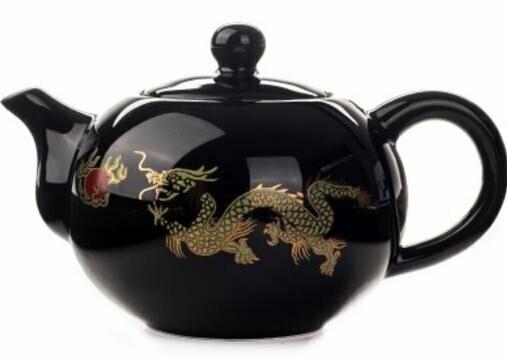 "239013 Чайник ""Дракон"", фарфор, 170мл."