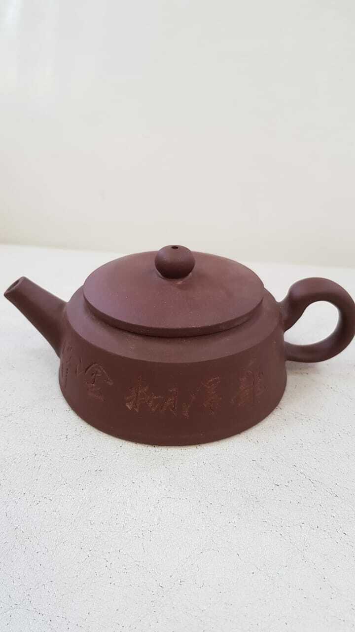 250007 Чайник ИСИН, глина коричневый