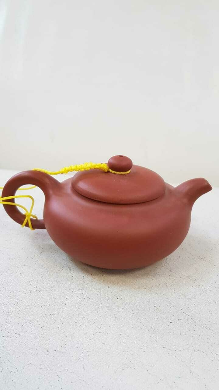 250010 Чайник ИСИН, глина красный