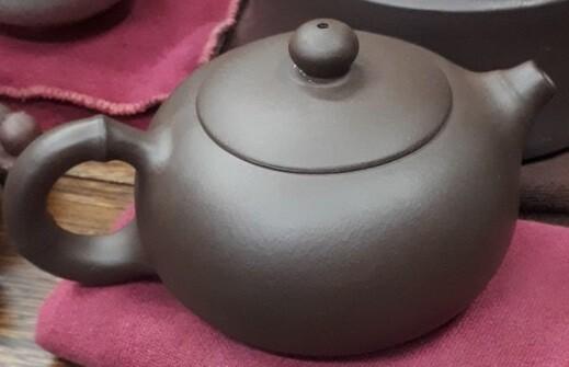 """258003 Чайник ИСИН """"Красавица СиШи"""", исинская глина, 200 мл, цвет - коричневый"""