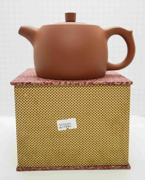 """259002 Чайник ИСИН """"Цзинлань - Колодезный сруб"""", 280мл, цвет светло коричневый, исинская глина"""