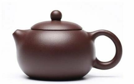 """257046 Чайник ИСИН """"Красавица СиШи"""", исинская глина, темно-кормчневый"""