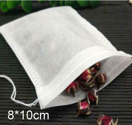 276002 Фильтр пакет для чайника 80*120мм. 100 штук в упаковке (п/э пакет)