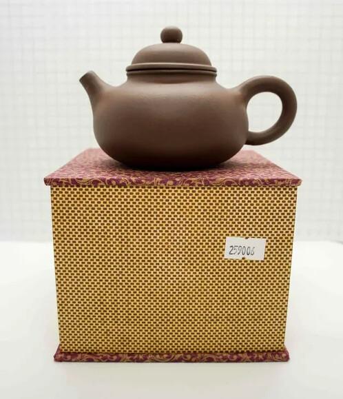 """259006 Чайник ИСИН """"Дуоцю - Собранный в Шар"""" 260мл, цвет коричневый."""