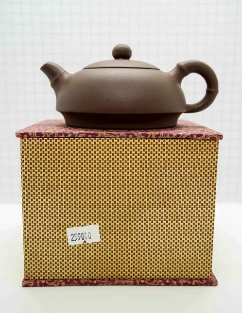 "259010 Чайник ИСИН ""Баньюэ - Полумесяц"" 220мл, глина коричневый"