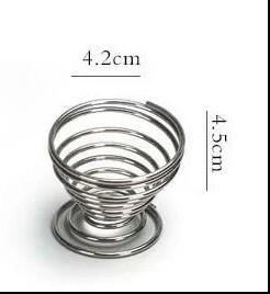 """242095 Подставка под ситечко """"Пружинка"""" 4,5 см х 4,2 см, сталь"""