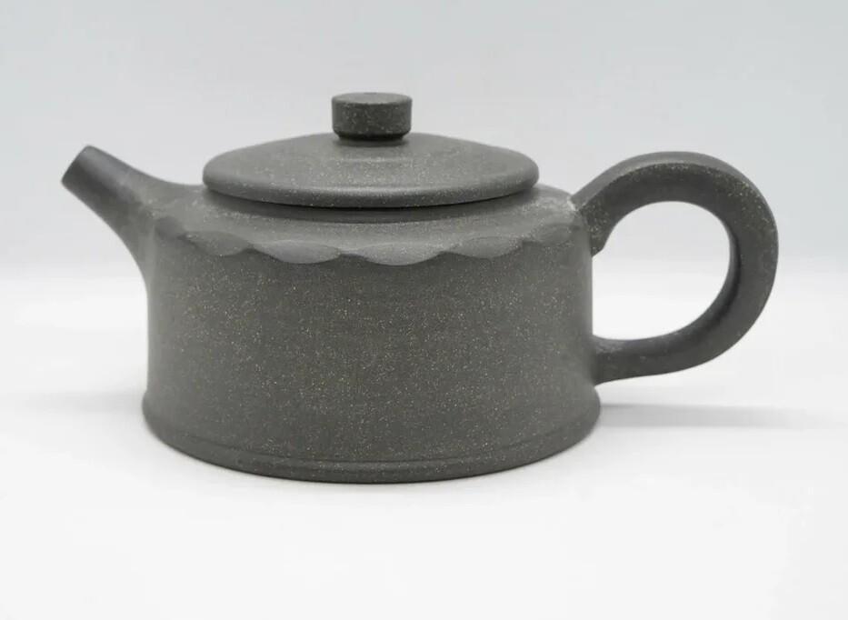 """259037 Чайник ИСИН """"Чжоу Пань - Чжоусское блюдо"""" 240мл, глина зеленый"""