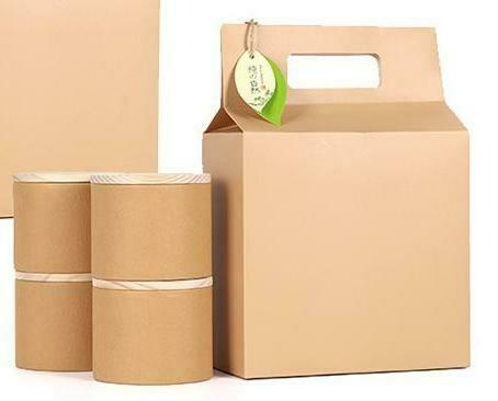 "269023.3 Коробка подар. ""Крафт"" БЕЗ БАНОК  h=30см, размер=21*11см, картон"