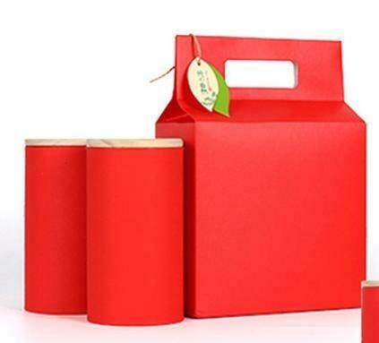 "269022.2 Коробка подар. ""Red"" БЕЗ БАНОК  h=26см, размер=18*9см, картон В РАЗОБРАННОМ ВИДЕ"