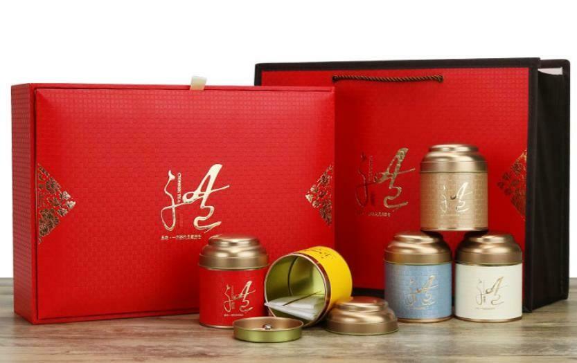 """269056 Набор подар. """"Счастливый шанс"""" 5бан., двойная крышка, коробка, сумка, картон/жесть/ткань"""