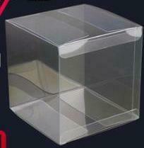 "293002 Коробка ""Прозрачная"" размер=7*7*7см, PET"