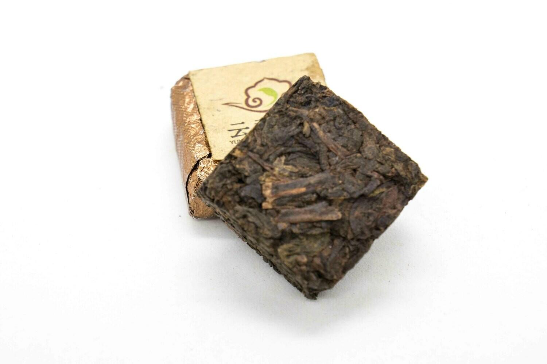 59176 Чай прессованный черный Пуэр Шу  Кофейный кубик (сяо то) (без аромика)