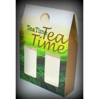 """15023 Коробка/пакет подарочная ( Tea Time )  """" Чайная Долина """""""